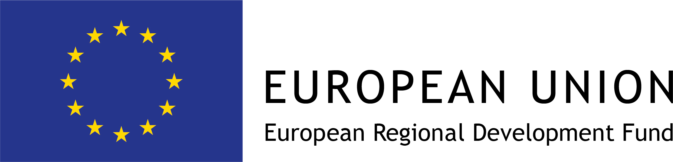 European Union : European Regional Development Fund logo